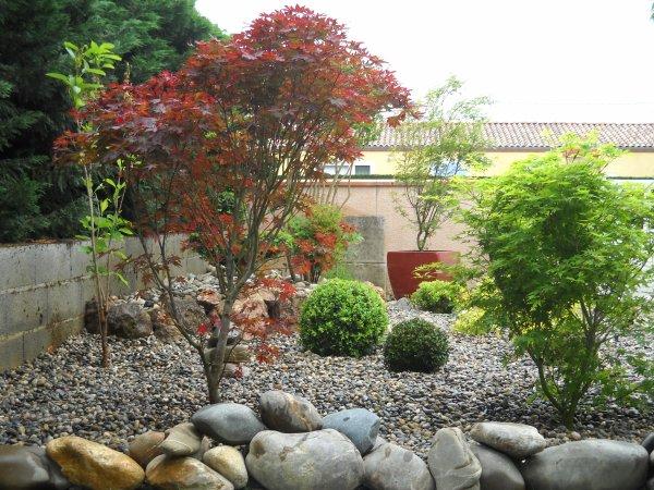 16 Mai 2012 Cr Ation D 39 Un Jardin De Type Japonais L 39 Entr E De Notre Jardin Blog De Pevido