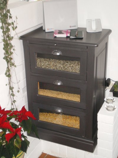 meuble apr s relook avec la satinelle noir et aluminium blog de eleonoredeco doris62. Black Bedroom Furniture Sets. Home Design Ideas