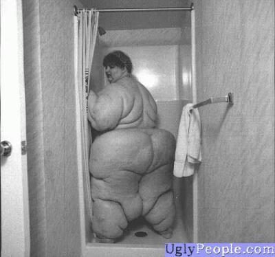 fat black naked funny